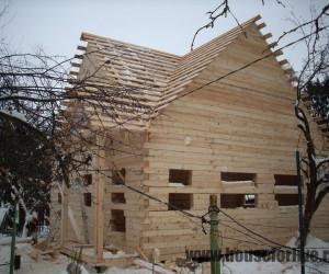 Строительство дома из бруса 8×8 (Сергиев Посад)