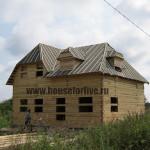 дом из бруса 10×10