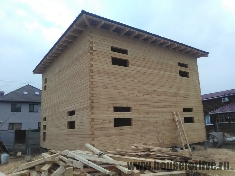 Дом из бруса 9×9 (Красногорск)