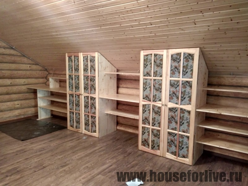 Шкафы ручной работы (Барыбино, СНТ Барыбино)