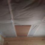 установка люка в потолке