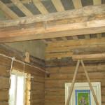 Удаление потолочной балки.