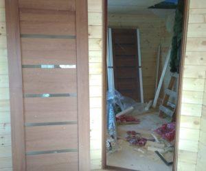 Внутренняя отделка дома из бруса (ДНП Березки, Можайский р-он)
